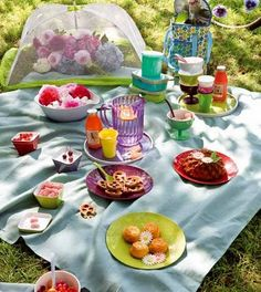A picnic makes my day better.