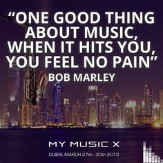 Bob Marley , Music Quote