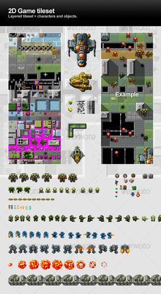 Graphics - 2d Game Tileset | GraphicRiver