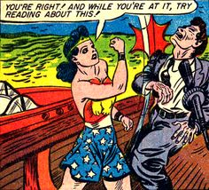 —Sensation Comics #5 (1942) by William Moulton Marston & H.G. Peter