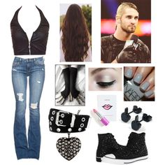 """Match with Seth Rollins"" by infinity-sabry on Polyvore"