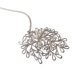 Silver Vines Necklace