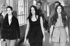 Leslie Van Houten, Susan Atkins, and Patricia Krenwinkel-April 19, 1971
