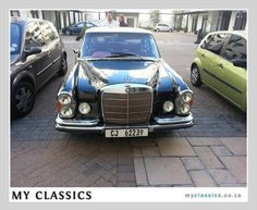 1968 Mercedes-Benz w108 280s column shift automatic classic car
