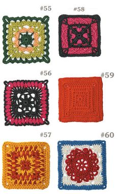 Picture of 99 Granny Squares to Crochet