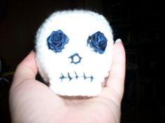 Halloween Amigurumi Crochet Pattern : Halloween skull ornament halloween trees pinterest halloween