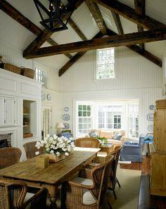 Vintage Farmhouse: Martha's Vineyard 1700s Federal Colonial