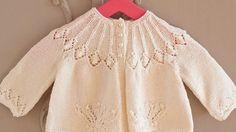 Royal Baby Matinee Jacket -- free pattern