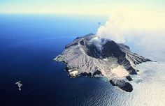 . white island . volcano . NZ