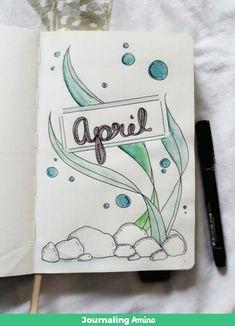 "APRIL 2018 SPREAD ""Ocean floor"" http://aminoapps.com/p/wip9h"