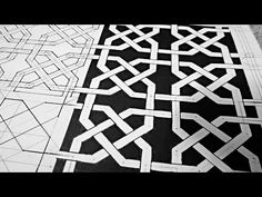 Connecting Octagons ☽ A Geometric Weaved Pattern [How To] - YouTube
