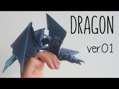 Origami Tutorial: How to make an Origami Dragon Model Design: Anh Dao Difficulty Level: Difficulte Paper size: x You can find the tutorial for the . Instruções Origami, Origami Mouse, Origami Yoda, Origami Ball, Origami Dragon, Origami Fish, Origami Bookmark, Paper Crafts Origami, Origami Stars