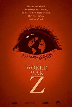Movie Friday:10 'World War Z' Alternative Movie Posters #art #scary