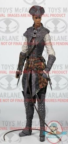 Oh sooooo keen for July!  Assassins Creed Series 2 Aveline De Grandpre Action Figure McFarlane | Man of Action Figures