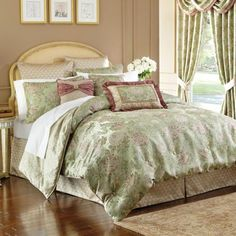 Croscill Conservatory Bedding Collection Bedding Collections - love this bedding as a possibility for our guest room.