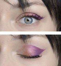 Le maquillage des yeux Jeremy Scott printemps été 2014