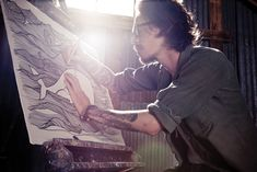 One of my fav. all time artists! Brandon Boyd