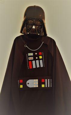 Déguisement de DARK VADOR - Anniversaire Star Wars #tuto gratuit | Y'a Maman à la maison