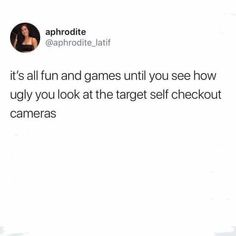 Or alternately, when you look cute af and see yourself looking good in those cameras Me Quotes, Funny Quotes, Funny Memes, Hilarious, Lol So True, Get To Know Me, Have A Laugh, Funny Facts, Laugh Out Loud