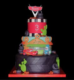 "Use Cricut Cake & ""Cars"" cartridge - Cody & Nathaniel would LOVE this! - Amber"
