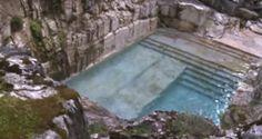 Una meravigliosa piscina privata ricavata in una vecchia cava di pietra | Stile Arte
