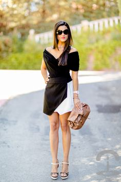 Bicolor Crimenes de la Moda
