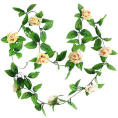 2x Artificial Rose Garland Silk Flower Wedding Home Garden Decor (Champagne) Generic http://www.amazon.co.uk/dp/B008XCZEAS/ref=cm_sw_r_pi_dp_Pj7tvb0CZT9HZ
