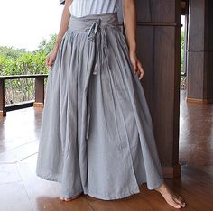 Wide Pants 244 in 22 colors size M or L by cocoricooo on Etsy