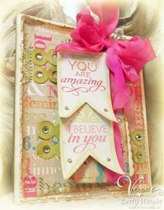 I Believe in You! - card