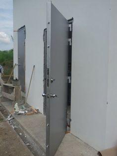 Puertas blindadas fabrica de puerta blindada precios for Precio cristal blindado