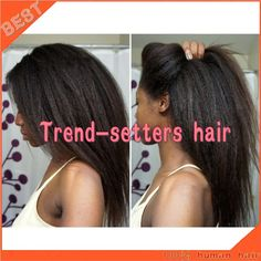 Find More Blended Hair Wigs Information about Best quality Kinky straight Full lace wig Malaysian Long hair wig virgin Silk top Lace front wig 180 Density for Afro Americans,High Quality wig caps for lace wigs,China wigs and hairpieces for white women Suppliers, Cheap wig game from Trend-setters hair products Co.,LTD on Aliexpress.com