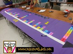 MissMathDork: middle school math made FUN!: Loved that Lesson: Fractional reasoning on a number line!!!