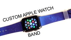awesome Custom Apple Watch Band! (Casetify) Check more at http://gadgetsnetworks.com/custom-apple-watch-band-casetify/