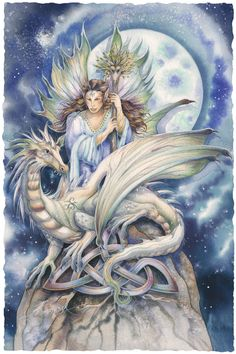 Bergsma Gallery Press::Paintings::Fantasy::Faeries::Ride Your Dreams They Will Take You Far - Prints