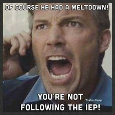 19 Memes That Might Make You Laugh If Your Child Has an IEP - Work place humor - gemischt Social Work Humor, School Social Work, Professor, Teaching Humor, Teaching Writing, Education Humor, Elementary Education, Special Education Quotes, Texas Education