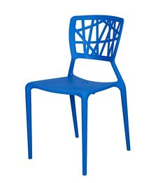 Phoenix Stackable Side Chair in Blue, SC-2602-162-BLUE by Source Contract | BizChair.com