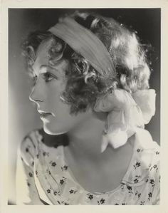 Marion Davies by George Hurrell 1920's