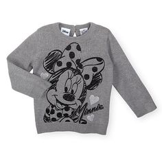 """Disney Baby Girls Grey Minnie Mouse Graphic Print Long Sleeve Pullover Sweater - Babies R Us - Babies """"R"""" Us Cute Princess, Princess Outfits, Girl Outfits, Disney Baby Clothes, Baby Disney, Baby Sweaters, Pullover Sweaters, My Beautiful Daughter, Mini Mouse"""