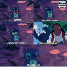 Lilo & Stitch: 13 phrases that will make you watch the movie again Lilo Stitch, Disney Memes, Disney Quotes, Disney Songs, Disney And Dreamworks, Disney Pixar, Triste Disney, Vinland Saga, Ohana Means Family