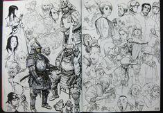 Kim Jung Gi: dibujos de un caos perfecto