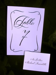 1000 Images About Place Cards On Pinterest Lettering