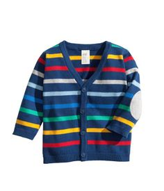 Striped cotton cardigan $9.95