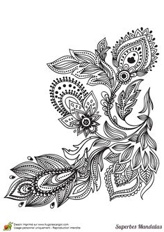 Ideas tattoo mandala flower inspiration shape for 2019 Pattern Coloring Pages, Printable Adult Coloring Pages, Colouring Pages, Coloring Books, Doodle Designs, Henna Designs, Et Tattoo, Bild Tattoos, Symbol Tattoos