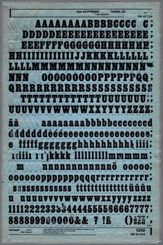 Rub on letter transfer. Used these a lot at school and for homework.