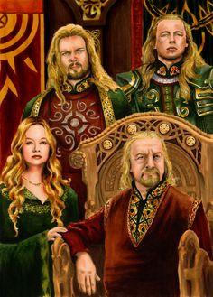 Royal Family of Rohan by AllisonSohn.deviantart.com on @deviantART