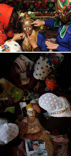 """Pomak Brides, Bulgaria """"This is beautiful, I hope to go around the world and witness their cultures"""""""