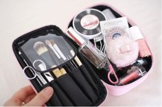 Korean new style Paper doll mate multifunctional Bag Size L Cosmetic bag Storage bag Makeup pouch (3Pcs/lot) Free shipping