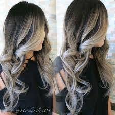 Image result for blonde highlights on black hair