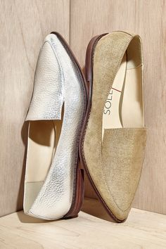 metallic loafers | now 50% off + free shipping!