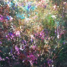 @SHE Art Gallery, Nuenen/Eindhoven,NL Suus Suiker -Symbioses 90-01 90x90cm Wax-Mixed Media,Ink